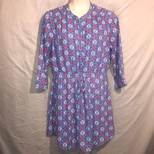 Daniel Rainn printed dress XL